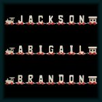 7 Letter Wooden Name Train