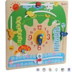 Multi-function Cognitive Time Puzzle