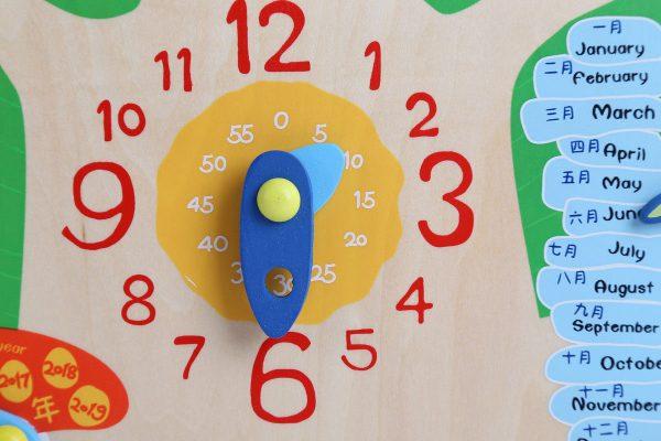 Multi-function Cognitive Time Puzzle